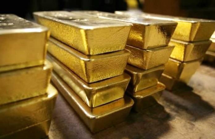 Réserve mondiale en or