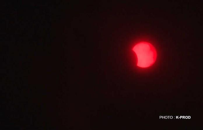 Eclipse à 11h15