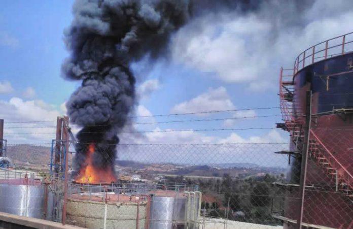 Explosion à Ambohimanambola