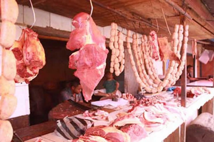 La viande de boeuf introuvable